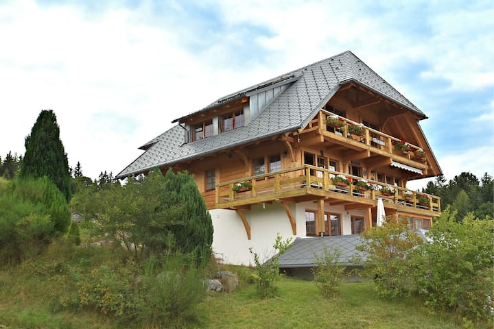 Lovely Apartment in Dachsberg-Urberg with Roof Terrace, BBQ