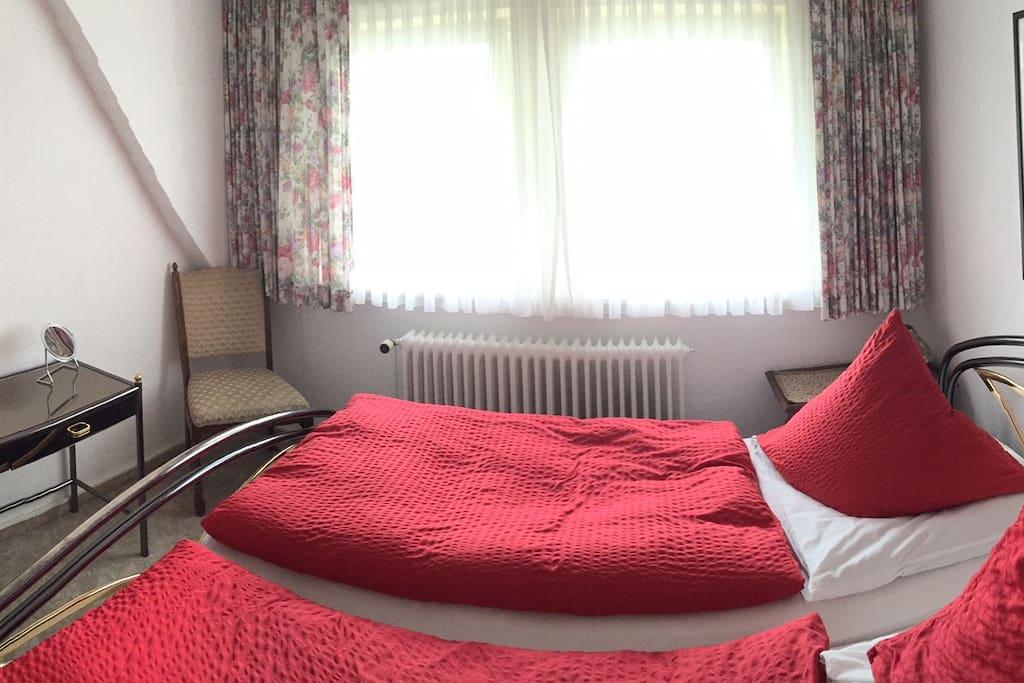 Schlafzimmer der Suite 24