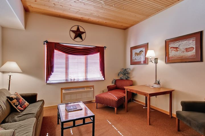 Affordable cozy condo with mountain views, great summer getaway