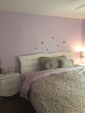 Castle of Light, Master bedroom, only over 1 mo.