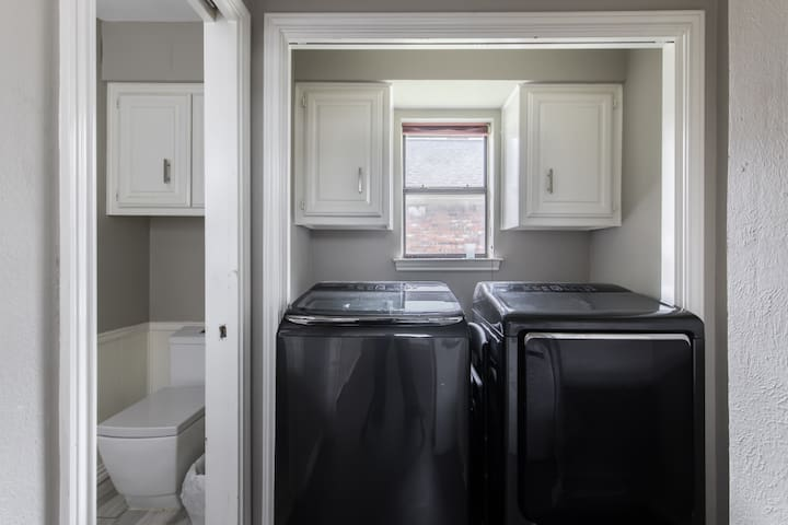 large smart washer and dryer