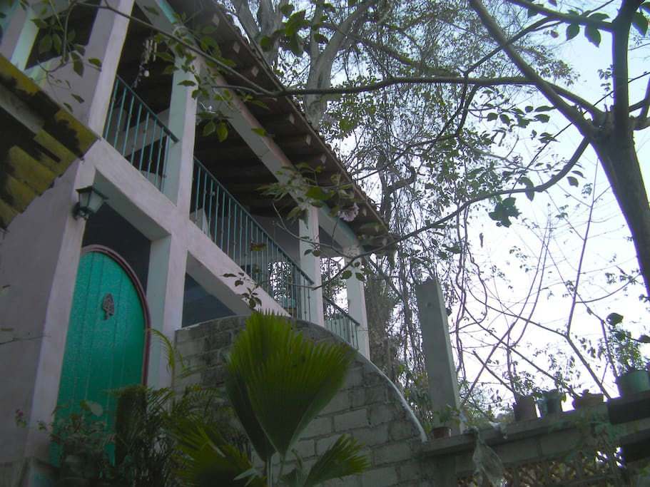 Entry door to  Casa Passion Flower