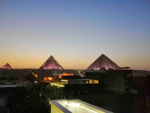 Sunshine Pyramids View 3
