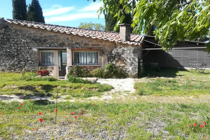 Beautiful cottage in the heart of a vineyard rosé