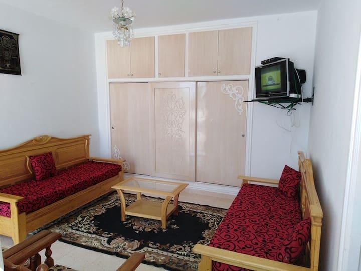 Studio meublé à kélibia plage