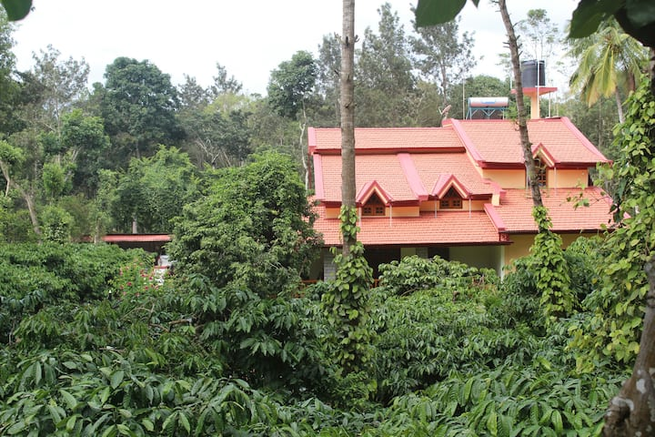 Whistling Woods , a home inside Coffee plantation.