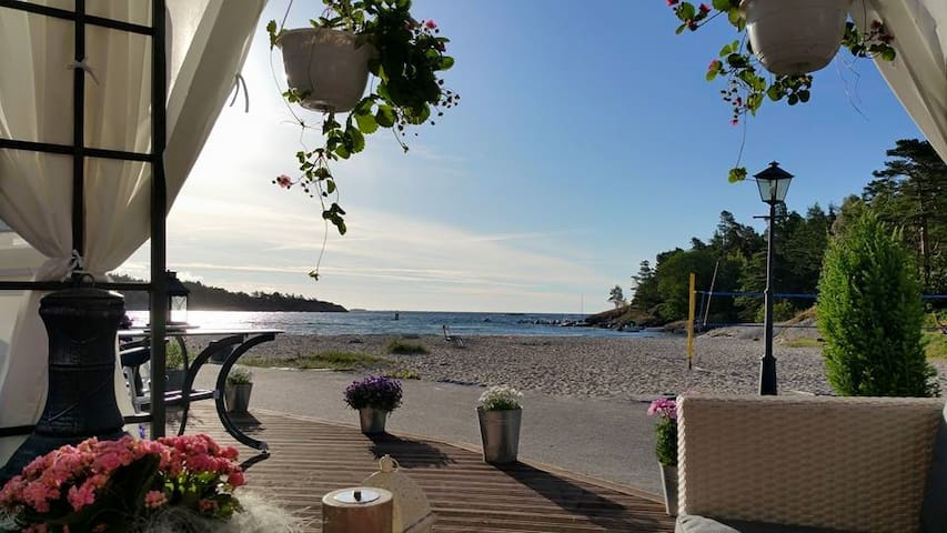 'AT THE BEACH' - Grimstad - Cabana