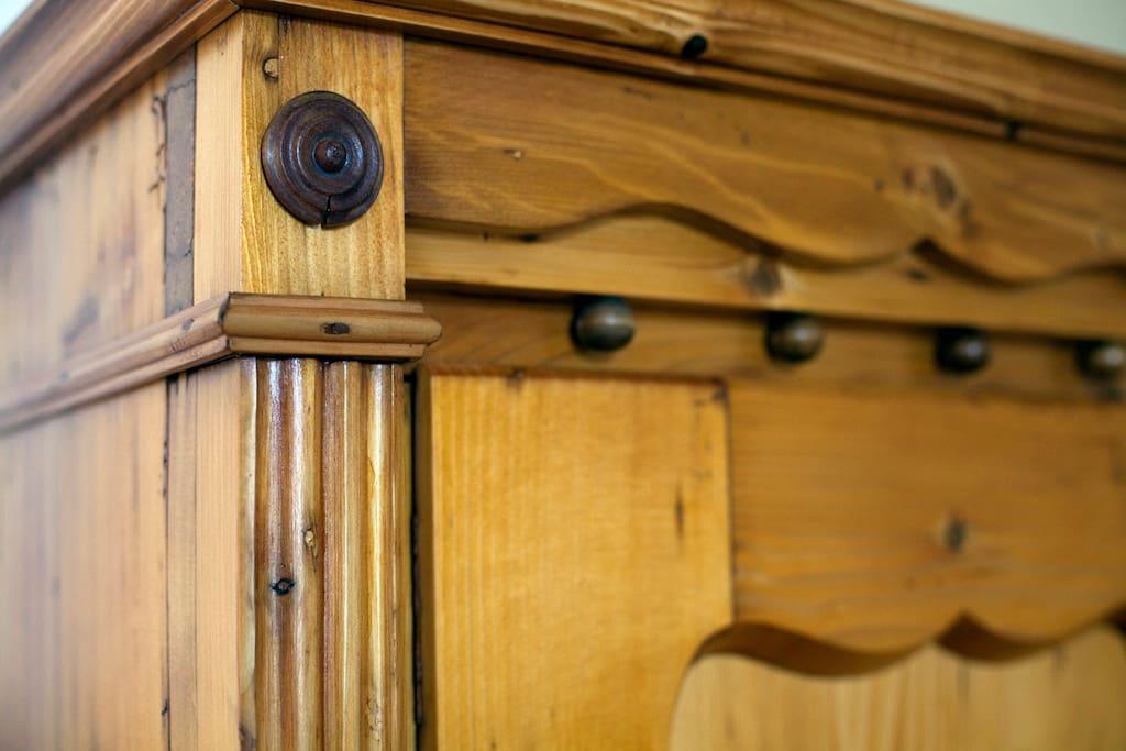 old handpicked furniture