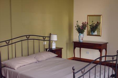 Agriturismo Pizzut - Camera Verde - Cormons - 家庭式旅館