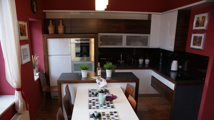 Komfortowy apartament na starówce - Elbląg - Appartement