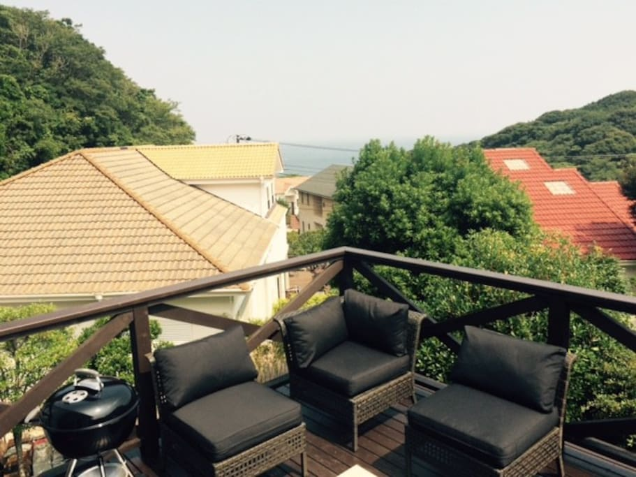 ocean view deck (16sqm)