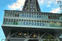 10s Tsutenkaku/7m NihonbashiShinsaibashi Cozy Apt.