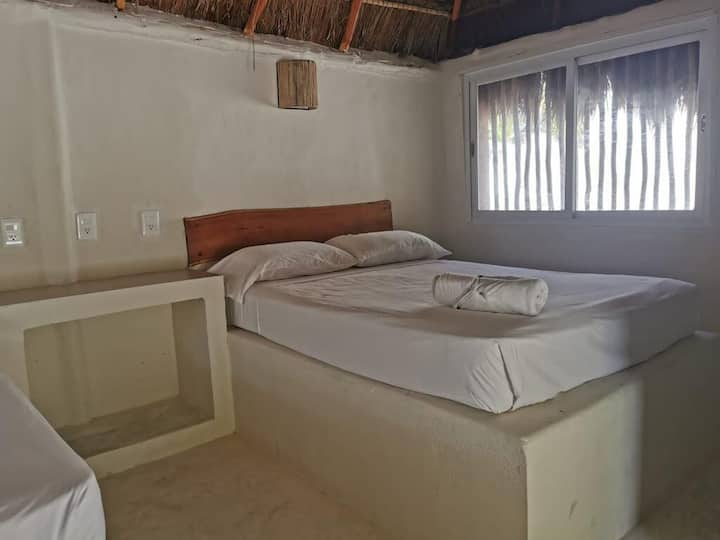 Bungalow 1 Bed on the beach of Tulum
