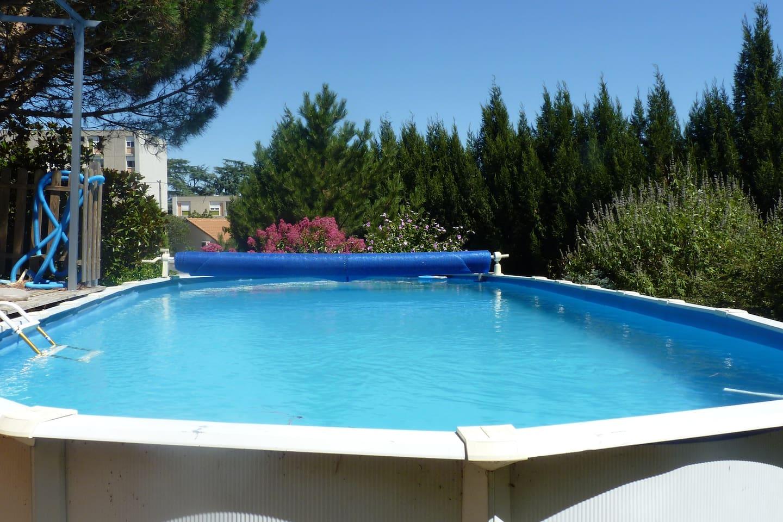 la piscine vous est réservée durant votre séjour