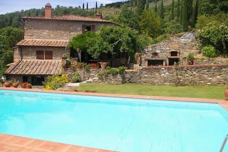 OASIS OF RELAX in TUSCANY WITH POOL - Castiglion Fiorentino - Vila