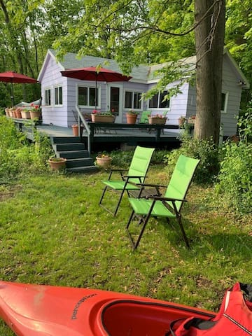 Unplug and relax. The Cottage is here for a peaceful and quiet getaway.