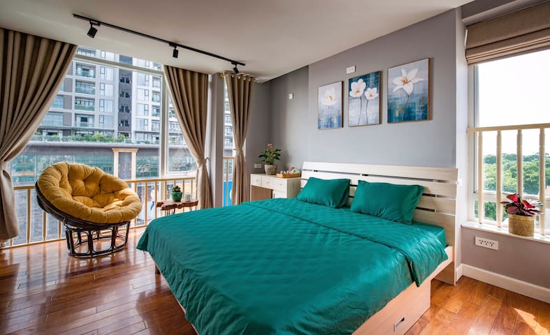 Beautiful & Comfortable. Room with Panoramic View