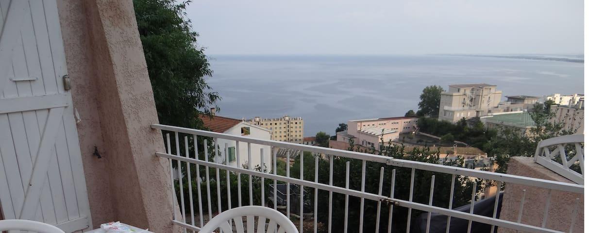RDC villa, vue mer - バスティア - 別荘