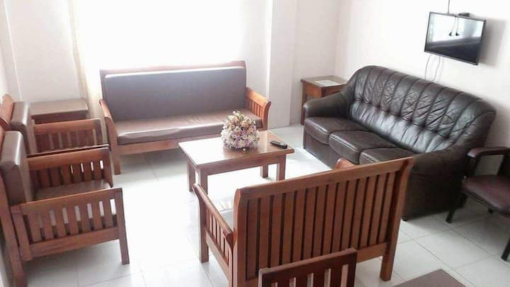 BAGUIO CITY TRANSIENT- Unit 3- 2 BEDROOM APARTMENT