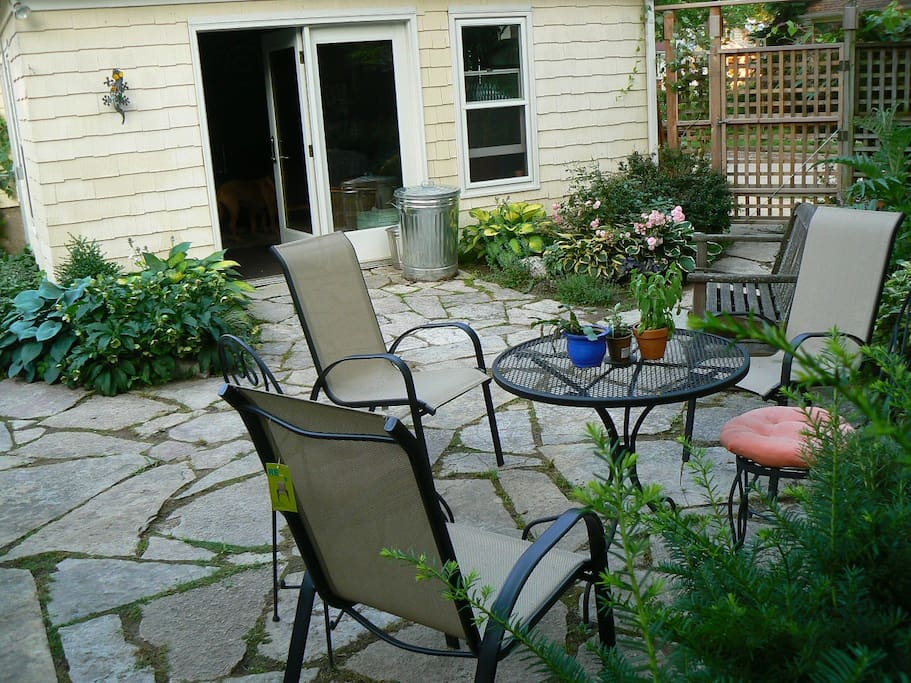 Patio space available