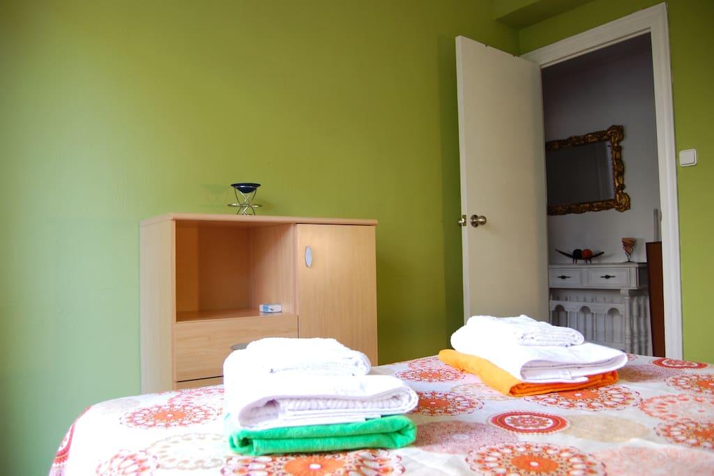 Your cozy room :-)