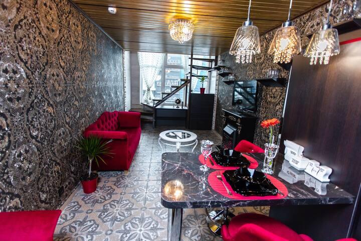 Double Level Luxury Loft in Historical Building!