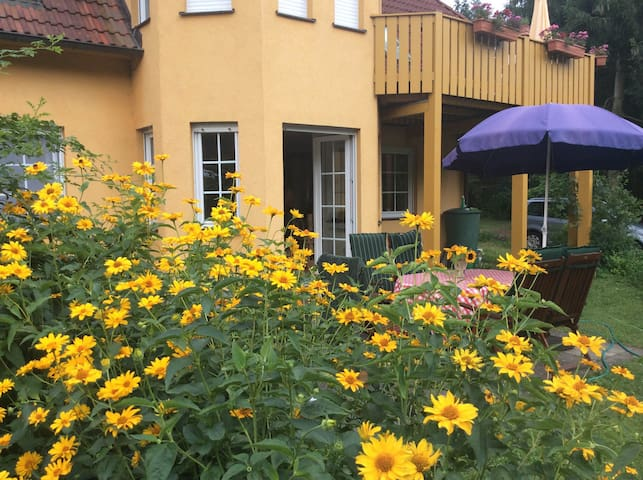 Ferienwohnung direkt am Klostersee - Neuhardenberg - Appartamento