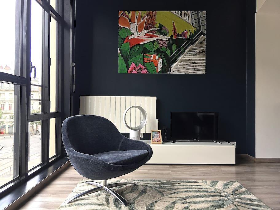Espace salon / TV.