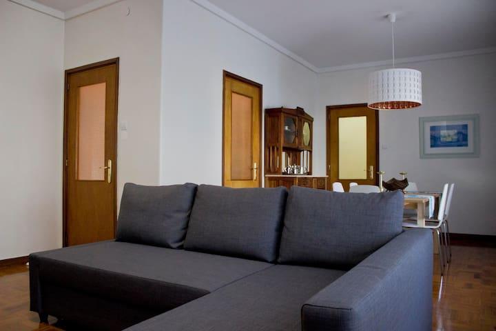 Spacious apartment in city center