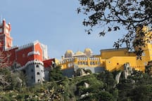 Day trip to Sintra at 1h driving from Vila Oasis Verde