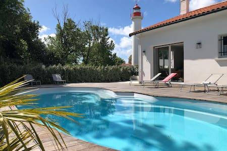 La Maison du Phare: typique villa oléronaise