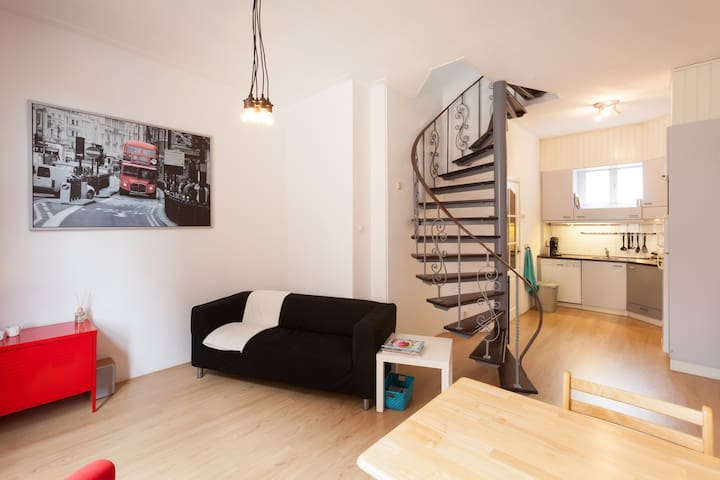 Modern apartment in the city center - Arnhem
