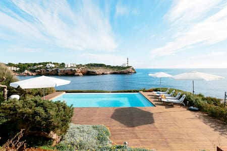 Sea Front Luxurious Villa Porto Colom Mallorca - Portocolom