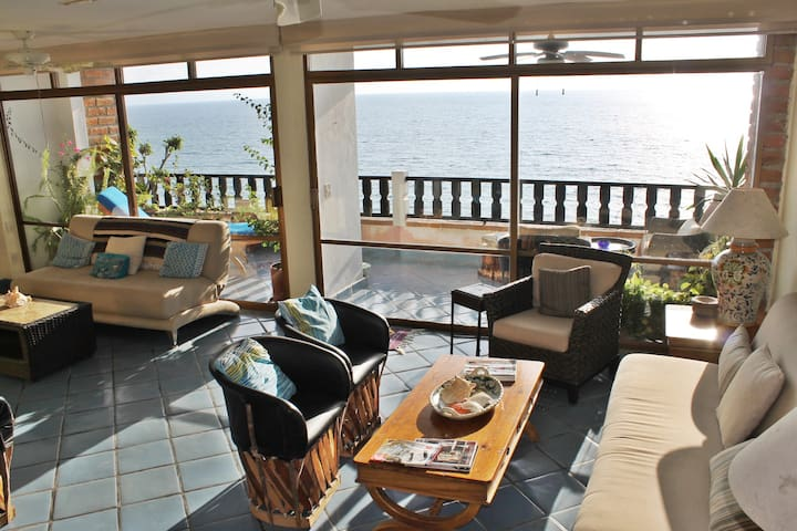 OCEAN FRONT APARTMENT ROMANTIC ZONE - Puerto Vallarta - Apartament