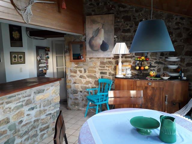 Maison Bretonne dans la Presqu'île de Crozon.