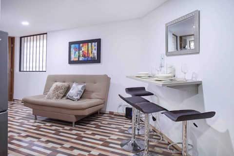 Bonito apartamento con todas las comodidades