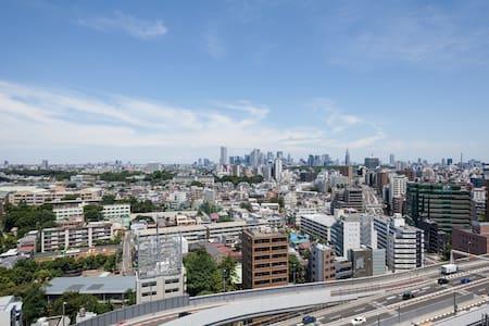 Luxury 1 stop to Shibuya 1BR Wifi - Meguro-ku - Apartment