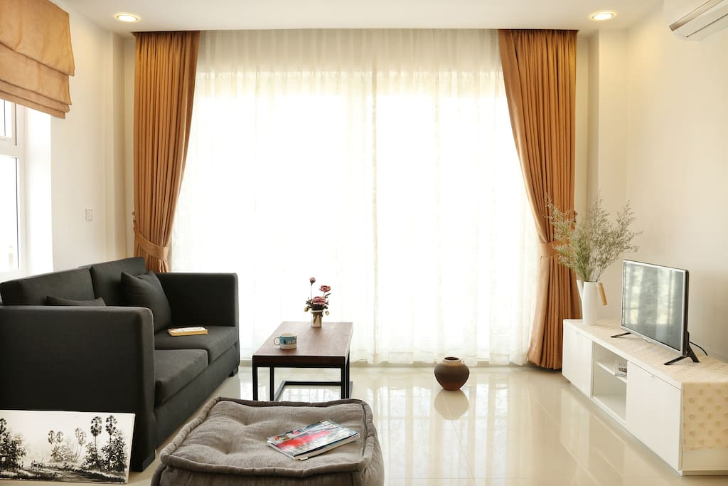 Cozy Living with Nice View of Phnom Penh