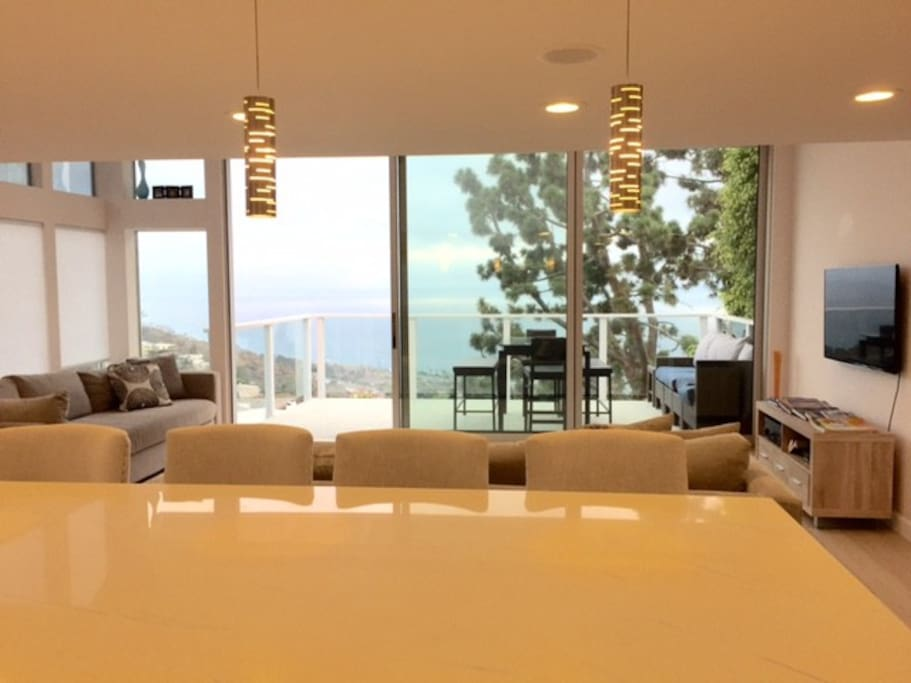 Enjoy amazing coastline views from your chefs kitchen!