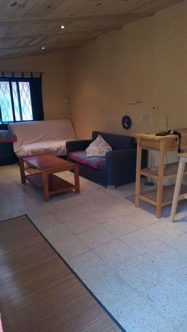 Sofà bed and sofa