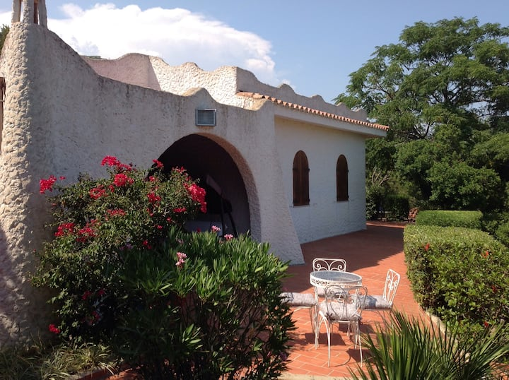 Costa Rei Villa Prua panoramica e riservata