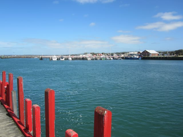 Fisherman's Wharf is a very popular fishing spot for all levels of experience.