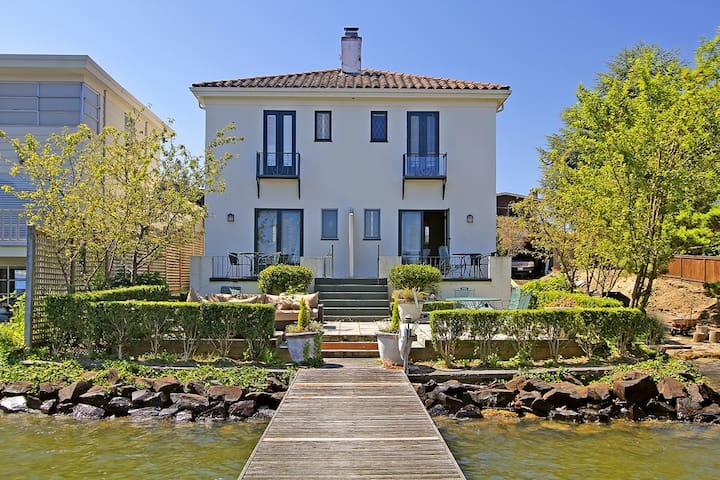 Waterfront Madison Park Villa