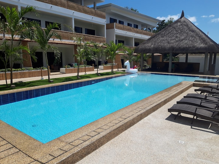 Apartment with pool near Alona Panglao