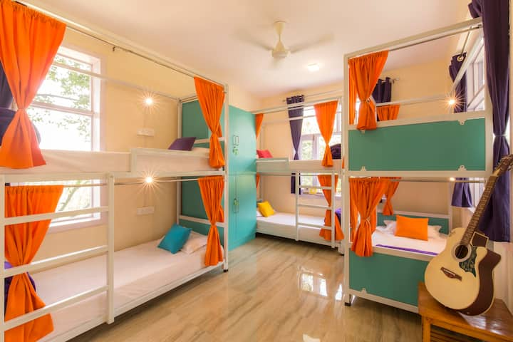 12 Bed AC Mixed Dorm @gostops Amritsar