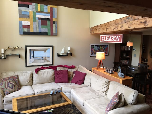 On Main St. In Center of Downtown - Greenville - Loft