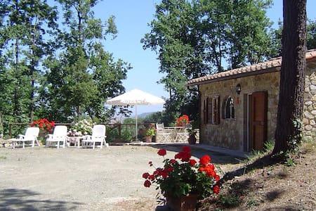"Romantic Cottage ""La Pineta"" - Chianni - 小屋"