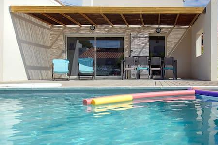Villa 4 chambres, piscine sécurisée. Provence. - Sausset-les-Pins - Hus