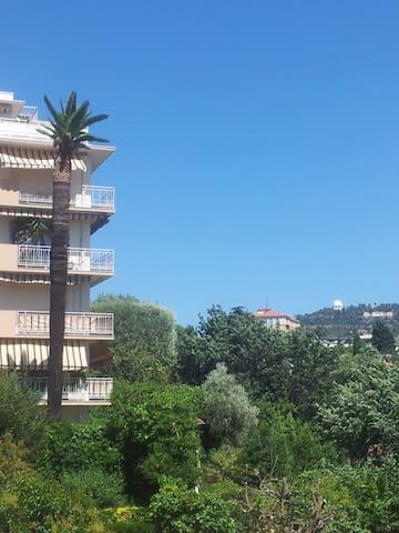 Cimiez Grand balcon Calme Soleil Parking - Nice - Apartamento
