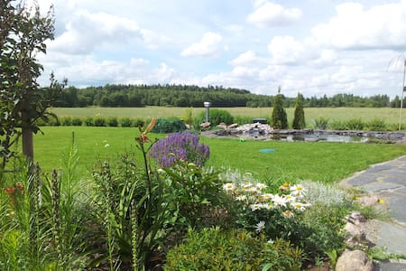 A cabin with a garden view - Vantaa - Bed & Breakfast